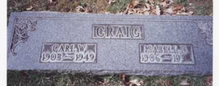 CRAIG, ISABELL D. - Stark County, Ohio | ISABELL D. CRAIG - Ohio Gravestone Photos