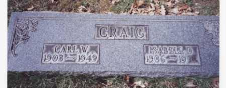 CRAIG, ISABELL D. - Stark County, Ohio | ISABELL D. CRAIG - Ohio Gravestone Photos