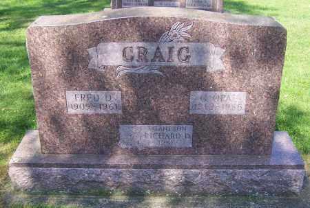 CRAIG, RICHARD D. - Stark County, Ohio | RICHARD D. CRAIG - Ohio Gravestone Photos