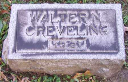 CREVELING, WALTER N. - Stark County, Ohio   WALTER N. CREVELING - Ohio Gravestone Photos