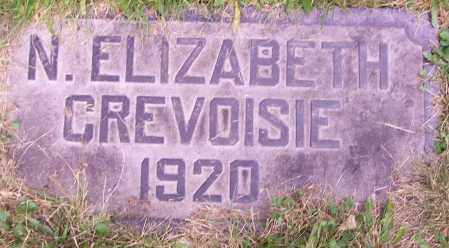 CREVOISIE, ELIZABETH N. - Stark County, Ohio   ELIZABETH N. CREVOISIE - Ohio Gravestone Photos