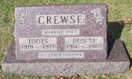 CREWSE, DON SR. - Stark County, Ohio | DON SR. CREWSE - Ohio Gravestone Photos