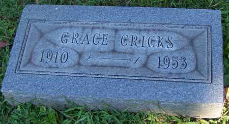 CRICKS, GRACE - Stark County, Ohio | GRACE CRICKS - Ohio Gravestone Photos