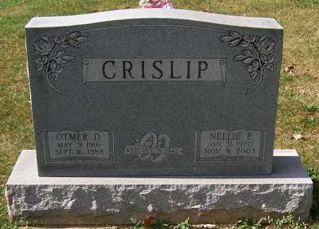 CRISLIP, NELLIE P. - Stark County, Ohio | NELLIE P. CRISLIP - Ohio Gravestone Photos