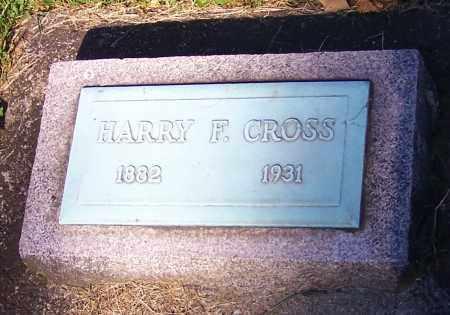 CROSS, HARRY F. - Stark County, Ohio | HARRY F. CROSS - Ohio Gravestone Photos