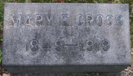 CROSS, MARY E. - Stark County, Ohio | MARY E. CROSS - Ohio Gravestone Photos