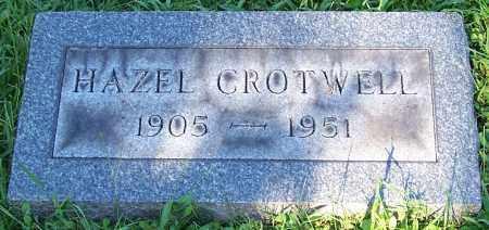 CROTWELL, HAZEL - Stark County, Ohio   HAZEL CROTWELL - Ohio Gravestone Photos