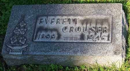 CROUSER, EVERETT - Stark County, Ohio   EVERETT CROUSER - Ohio Gravestone Photos