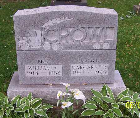 CROWL, WILLIAM A. - Stark County, Ohio   WILLIAM A. CROWL - Ohio Gravestone Photos
