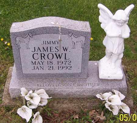 CROWL, JAMES W. - Stark County, Ohio   JAMES W. CROWL - Ohio Gravestone Photos