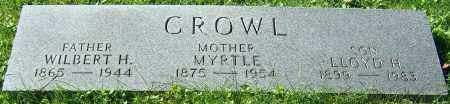 CROWL, MYRTLE - Stark County, Ohio | MYRTLE CROWL - Ohio Gravestone Photos
