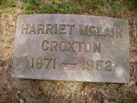 CROXTON, HARRIET - Stark County, Ohio | HARRIET CROXTON - Ohio Gravestone Photos