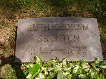 CROXTON, RUTH - Stark County, Ohio | RUTH CROXTON - Ohio Gravestone Photos