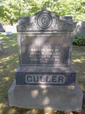 CULLER, MARTHA - Stark County, Ohio | MARTHA CULLER - Ohio Gravestone Photos