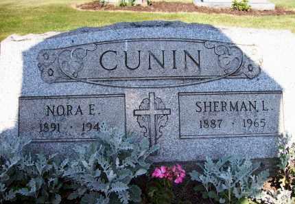 CUNIN, NORA E. - Stark County, Ohio | NORA E. CUNIN - Ohio Gravestone Photos