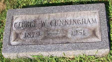 CUNNINGHAM, GEORGE W. - Stark County, Ohio | GEORGE W. CUNNINGHAM - Ohio Gravestone Photos