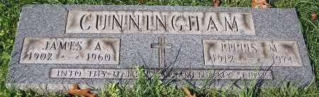 CUNNINGHAM, JAMES A. - Stark County, Ohio | JAMES A. CUNNINGHAM - Ohio Gravestone Photos