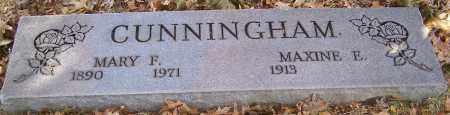 CUNNINGHAM, MAXINE E. - Stark County, Ohio | MAXINE E. CUNNINGHAM - Ohio Gravestone Photos