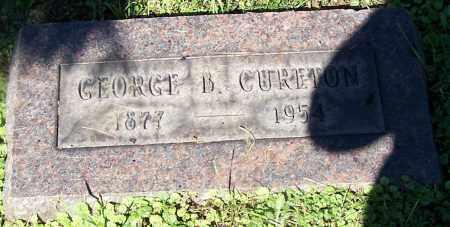 CURETON, GEORGE B. - Stark County, Ohio | GEORGE B. CURETON - Ohio Gravestone Photos