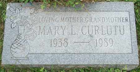 CURLUTU, MARY L. - Stark County, Ohio | MARY L. CURLUTU - Ohio Gravestone Photos