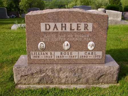 DAHLER, CARL - Stark County, Ohio | CARL DAHLER - Ohio Gravestone Photos