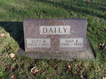 DAILY, IVAN R. - Stark County, Ohio | IVAN R. DAILY - Ohio Gravestone Photos