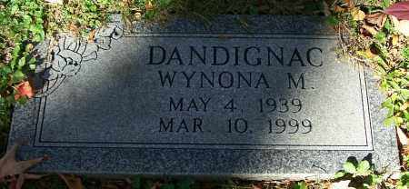 DANDIGNAC, WYNONA M. - Stark County, Ohio | WYNONA M. DANDIGNAC - Ohio Gravestone Photos
