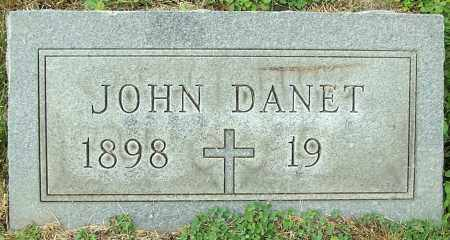DANET, JOHN - Stark County, Ohio | JOHN DANET - Ohio Gravestone Photos