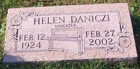 DANICZI, HELEN - Stark County, Ohio   HELEN DANICZI - Ohio Gravestone Photos
