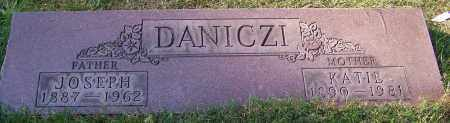 DANICZI, KATIE - Stark County, Ohio | KATIE DANICZI - Ohio Gravestone Photos