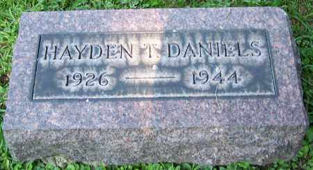 DANIELS, HAYDEN T. - Stark County, Ohio | HAYDEN T. DANIELS - Ohio Gravestone Photos