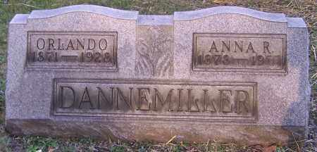 DANNEMILLER, ORLANDO - Stark County, Ohio | ORLANDO DANNEMILLER - Ohio Gravestone Photos