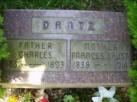 DANTZ, FRANCES - Stark County, Ohio   FRANCES DANTZ - Ohio Gravestone Photos