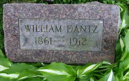 DANTZ, WILLIAM - Stark County, Ohio | WILLIAM DANTZ - Ohio Gravestone Photos