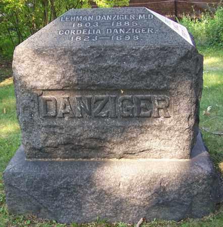 DANZIGER, LEHMAN (MD) - Stark County, Ohio | LEHMAN (MD) DANZIGER - Ohio Gravestone Photos