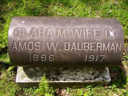 DAUBERMAN, CLARA M. - Stark County, Ohio | CLARA M. DAUBERMAN - Ohio Gravestone Photos