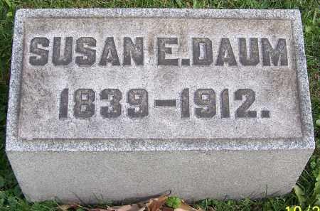 DAUM, SUSAN E. - Stark County, Ohio | SUSAN E. DAUM - Ohio Gravestone Photos
