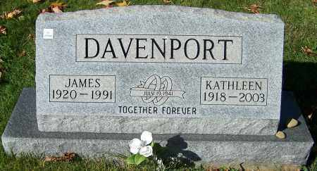 DAVENPORT, JAMES - Stark County, Ohio | JAMES DAVENPORT - Ohio Gravestone Photos
