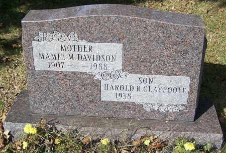 DAVIDSON, MAMIE M. - Stark County, Ohio | MAMIE M. DAVIDSON - Ohio Gravestone Photos