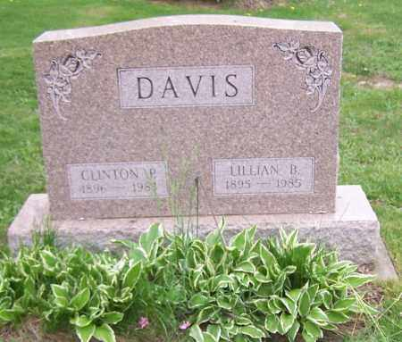 DAVIS, CLINTON P. - Stark County, Ohio | CLINTON P. DAVIS - Ohio Gravestone Photos