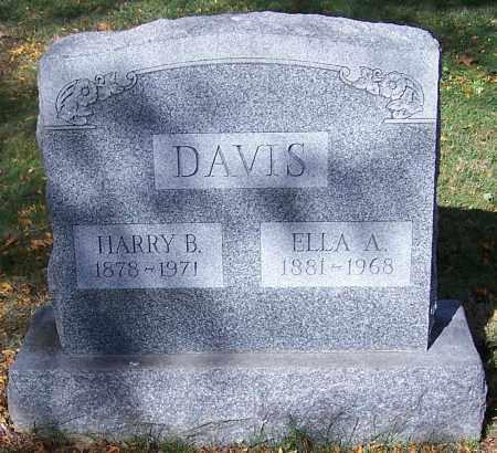 DAVIS, ELLA A. - Stark County, Ohio   ELLA A. DAVIS - Ohio Gravestone Photos