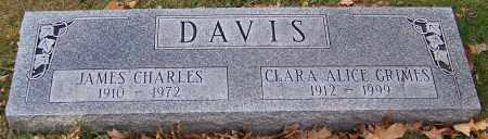 DAVIS, JAMES CHARLES - Stark County, Ohio | JAMES CHARLES DAVIS - Ohio Gravestone Photos