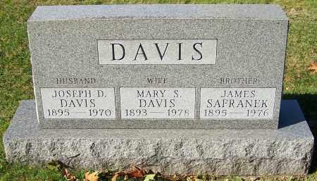 DAVIS, MARY S. - Stark County, Ohio | MARY S. DAVIS - Ohio Gravestone Photos