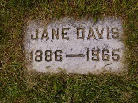 DAVIS, JANE - Stark County, Ohio | JANE DAVIS - Ohio Gravestone Photos