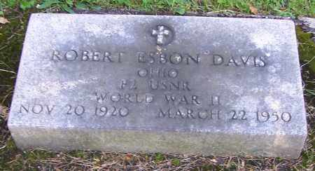 DAVIS, ROBERT ESBON - Stark County, Ohio | ROBERT ESBON DAVIS - Ohio Gravestone Photos