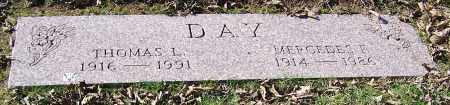 DAY, MERCEDES F. - Stark County, Ohio | MERCEDES F. DAY - Ohio Gravestone Photos