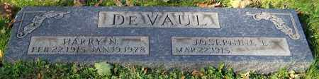 DE VAUL, HARRY N. - Stark County, Ohio | HARRY N. DE VAUL - Ohio Gravestone Photos