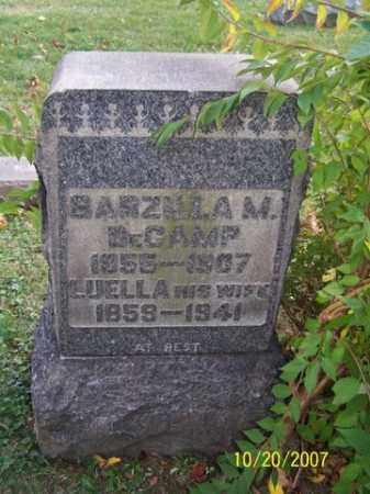 DECAMP, BARZILLA M. - Stark County, Ohio | BARZILLA M. DECAMP - Ohio Gravestone Photos