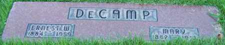 DECAMP, ERNEST W. - Stark County, Ohio | ERNEST W. DECAMP - Ohio Gravestone Photos