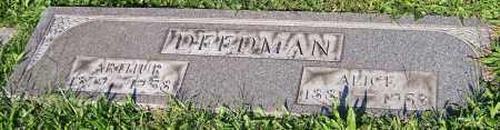 DEEDMAN, ARTHUR - Stark County, Ohio | ARTHUR DEEDMAN - Ohio Gravestone Photos